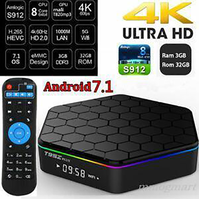 HD 4k Android TV Box Murah