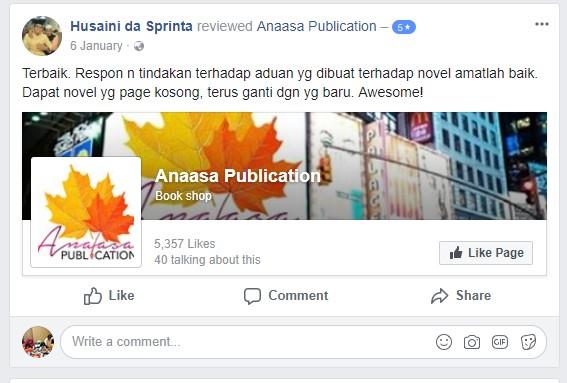 Beli Buku Novel Murah Secara Online Sahaja