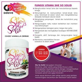 Tips Langsingkan Badan dengan She so Solid