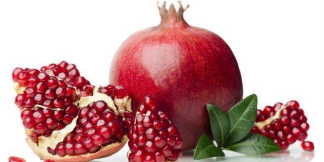 buah delima dalam juichy advance supliment