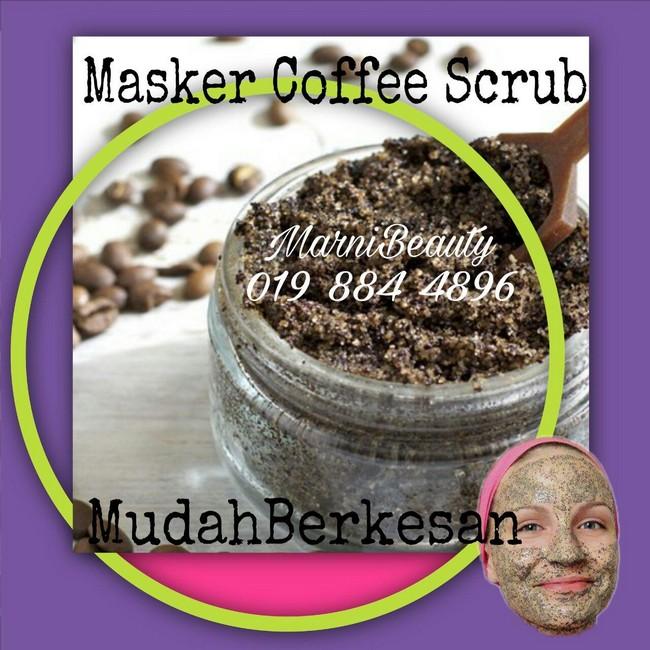 dapatkan coffee scrub by marni