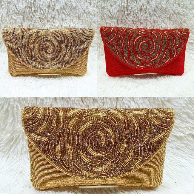 design beg buatan tangan mark n diouz dengan padanan kasut yang cantik dan berkualiti
