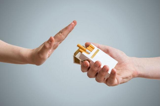 elakkan asap rokok untuk mengatasi sengugut dan cyst
