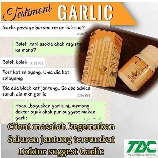 garlic tablet atasi masalah jantung tersumbat