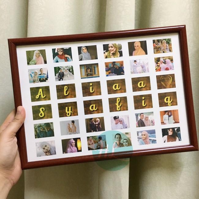 kelebihan buat tempahan custom collage frame dari hola lulu