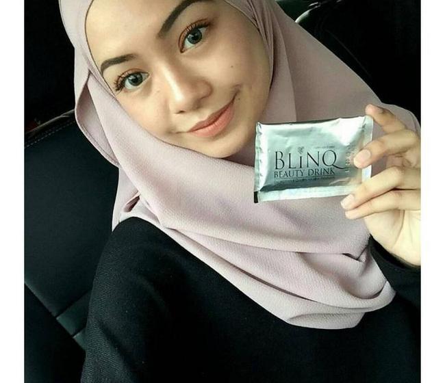 kelebihan minum blinq beau powder untuk kecantikan luaran