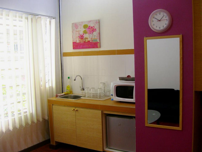 kelengkapan hotel seperti rumah sendiri di wangsa maju