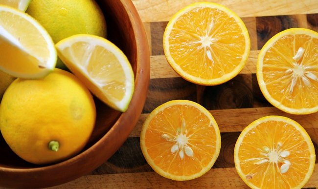 khasiat vitamin C oren dan limau