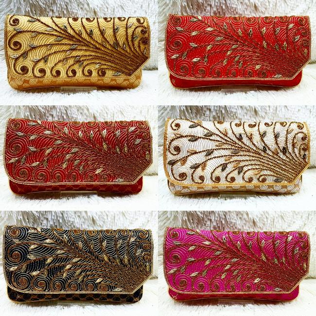 koleksi beg buatan tangan cantik jahitan manik penuh