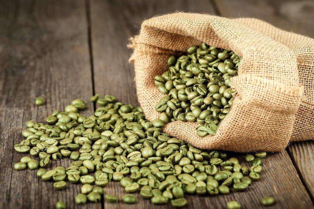 kopi hijau dalam juichy advance