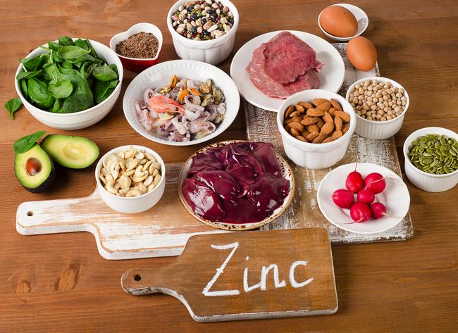 makanan mengandungi zink tinggi