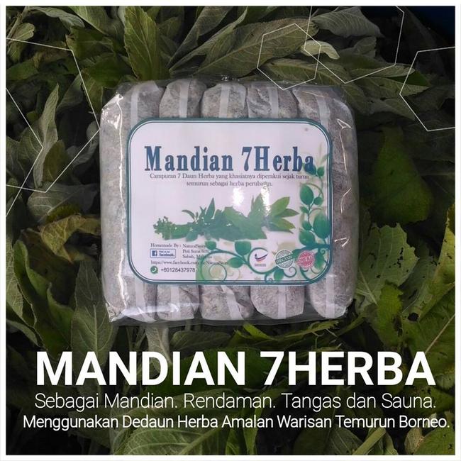 mandian 7 herba penuh dengan kebaikan