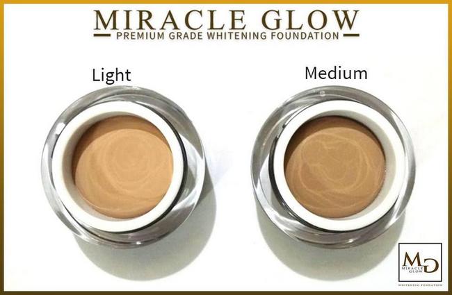 miracle premium grade foundation mesra wudhu