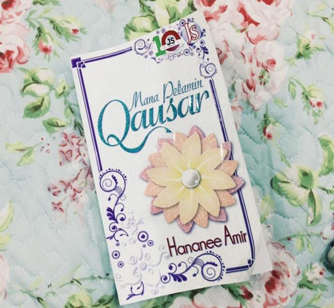 novel mana pelamin qausar hananee amir