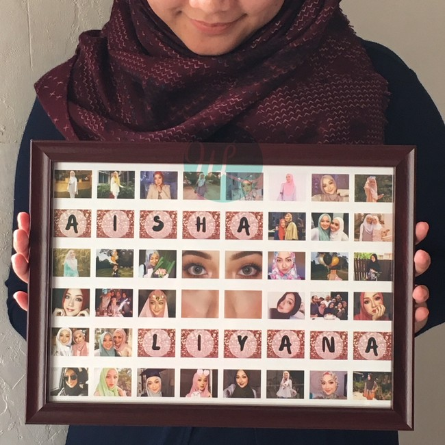 pemberian dan penghantaran bingkai gambar custom made percuma hola lulu