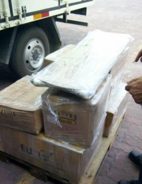 pemindahan barangan pejabat berbungkus kemas