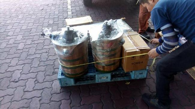penghantaran pelbagai barangan melalui kargo