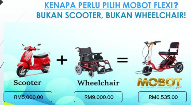 perbandingan harga mobot escooter wheelchair murah