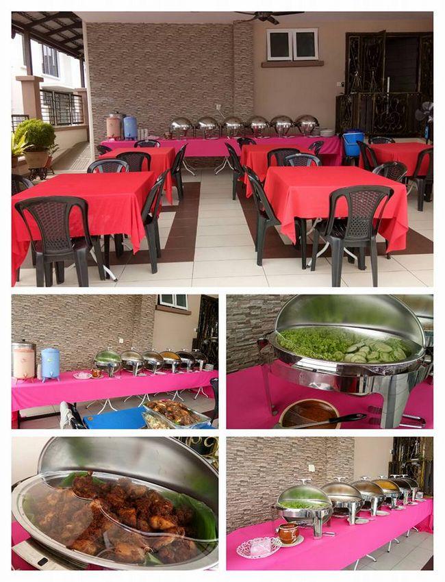 perkhidmatan khemah dan katering murah di selangor
