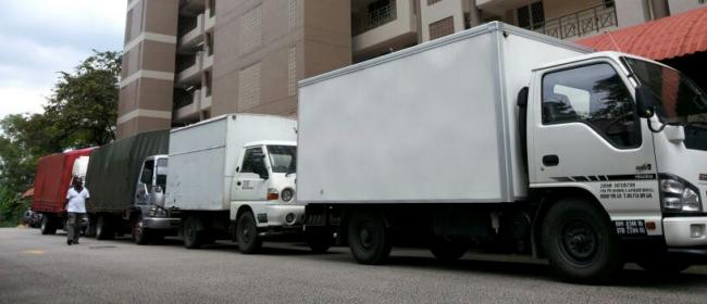 perkhidmatan lori sewa yang menyeluruh