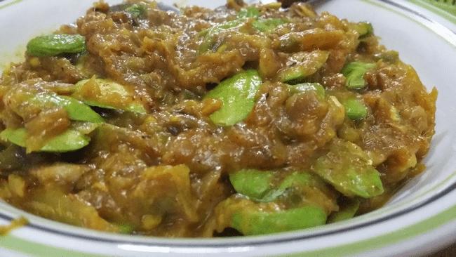 resepi sambal petai tempoyak pelengkap masakan