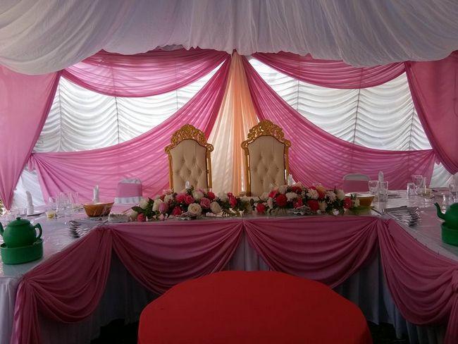 set khemah makan perkahwinan di selangor