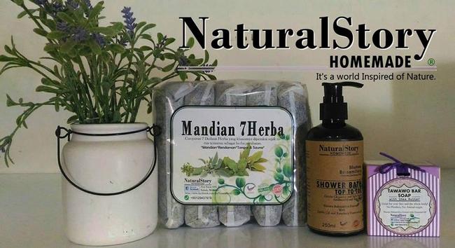 set mandian 7 herba dari naturalstory