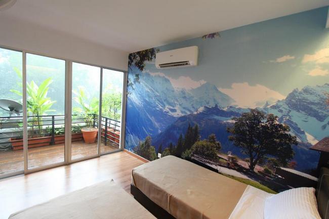 suasana hotel apartment di wangsa maju