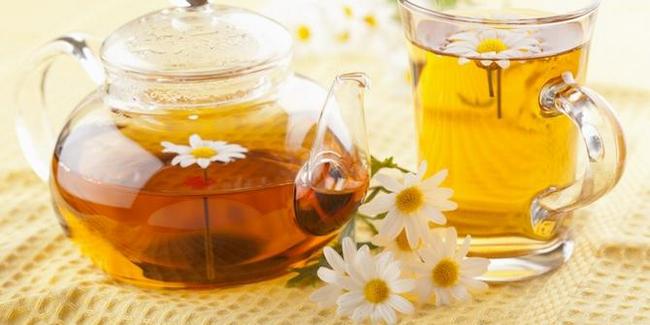 teh chamomile untuk mengatasi sengugut dan cyst