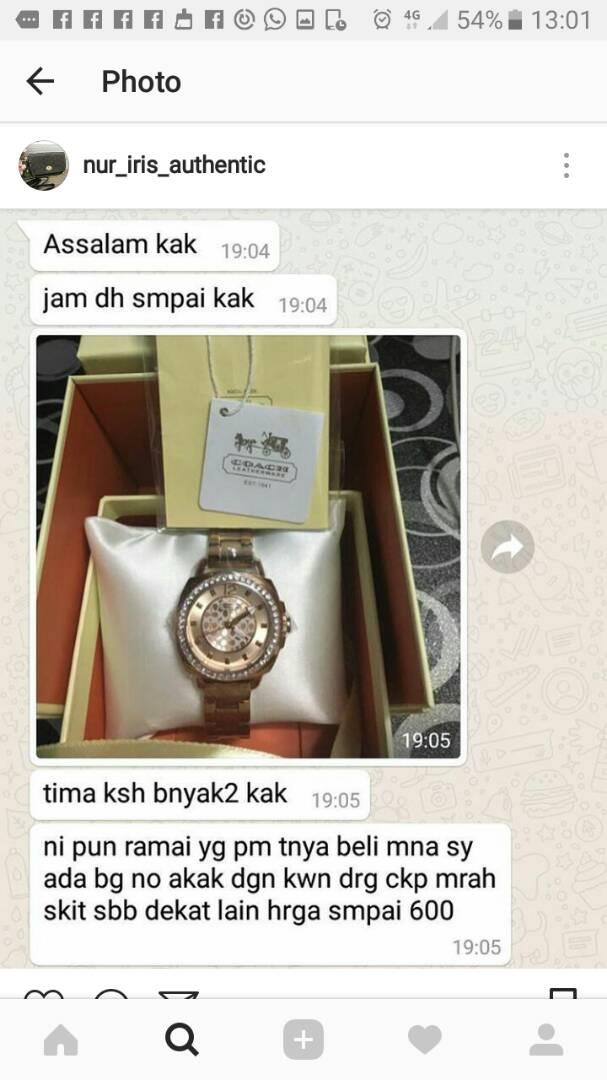 testimoni pembeli jam tangan berjenama original dan murah (4)