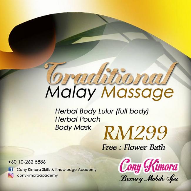 traditional massage mobile spa bergerak terbaik di selangor dan kuala lumpur