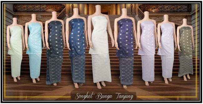 Ciri-ciri Baju Songket dan Tradisional Murah