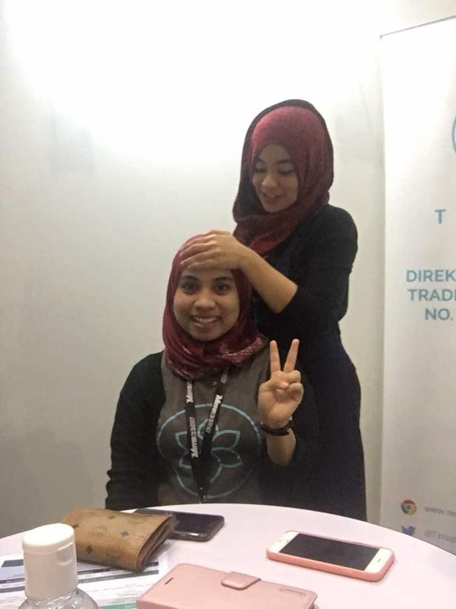 Head Corporate Massage in Kuala Lumpur