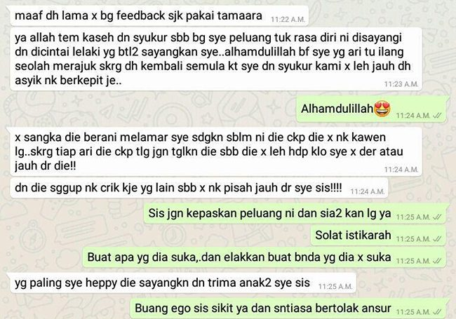 Tambah Aura Positif Best