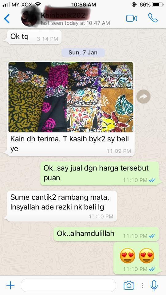 Tips Penjagaan Kain Batik Cotton yang boleh Anda Gunakan
