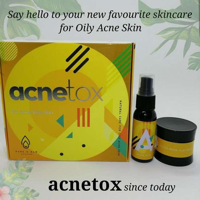 acnetox untuk kulit berjerawat dan berminyak