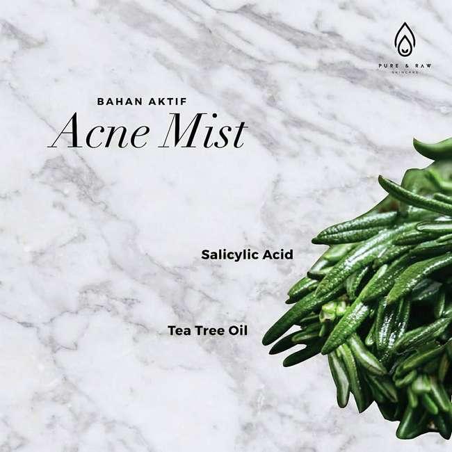 bahan aktif acne mist