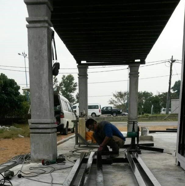 bahan berkualiti untuk bina rumah kontena