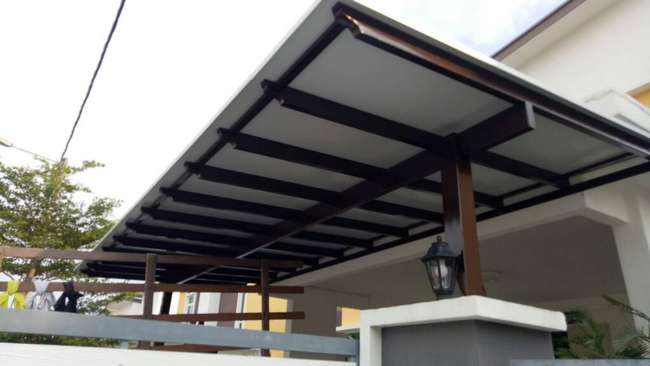 Awning Policarbonate Grill Gate