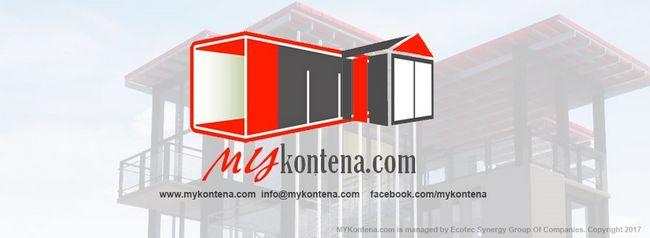 bina rumah kontena eksklusif dengan mykontena