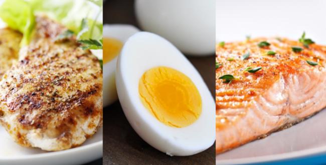 makanan untuk hasilkan bina otot dengan betul