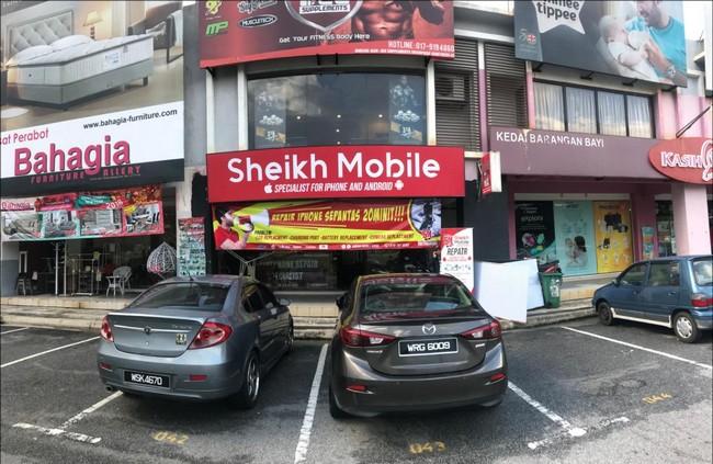 Selain kedai yang Repair Smartphone murah di Bangi
