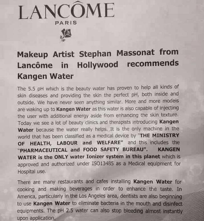 air kangen water untuk mencantikkan wajah