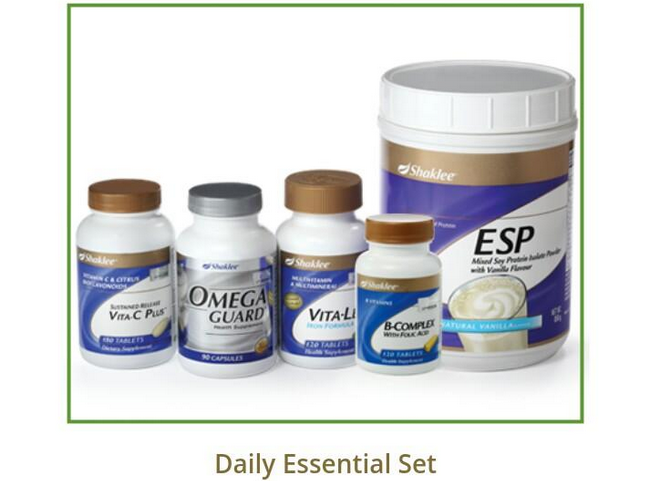 shaklee daily essential set