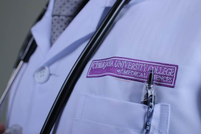 labcoats with custom embroidery