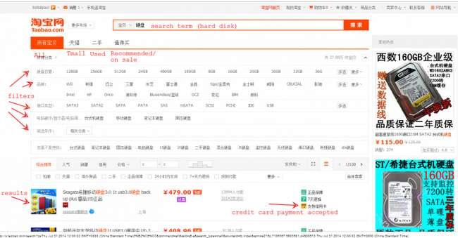 masalah harga jualan di taobao borong barang dari china