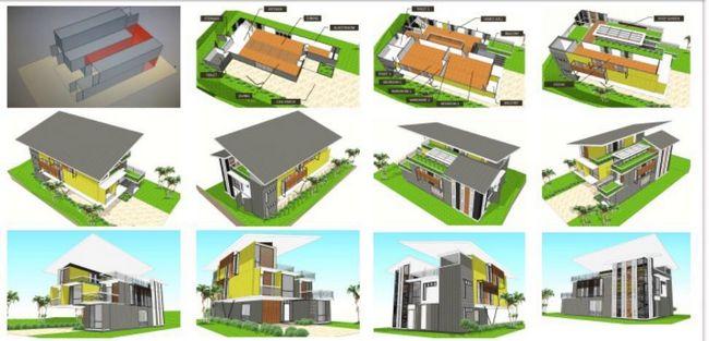 pelbagai design rumah kontena untuk dimiliki