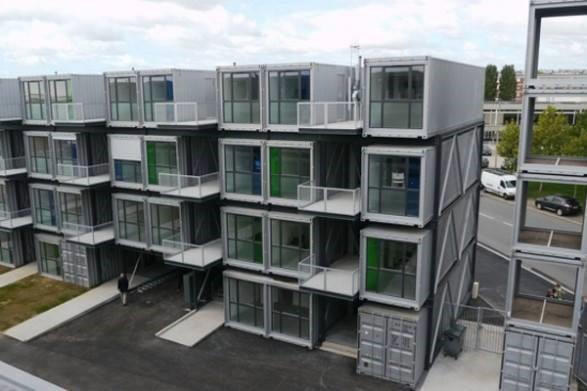 rumah kontena bina rumah murah untuk homestay