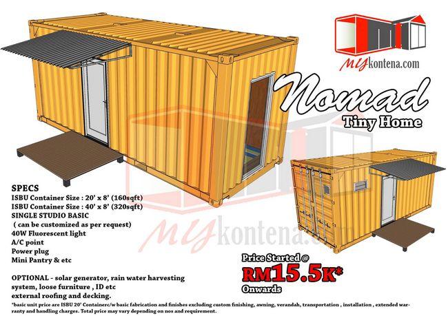 rumah kontena nomad