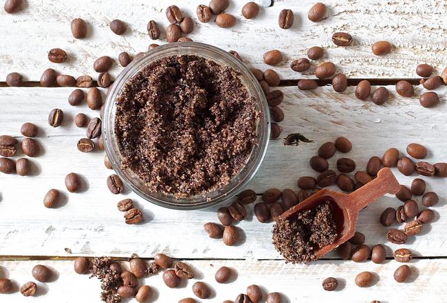 bahan berkualiti tinggi dalam geboo coffee scrub